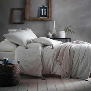 Appletree Trenton 100% Cotton Duvet Set Linen