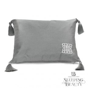 Laurence Llewelyn-Bowen Concierge Tasselled Filled Cushion Silver