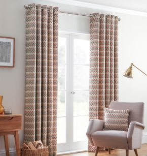 Rio Eyelet Lined Curtains