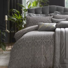 Laurence Llewelyn-Bowen Masque Duvet Set Slate