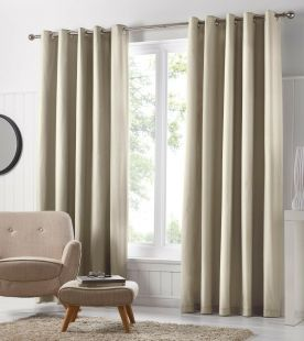 Fusion Freya Eyelet Curtains