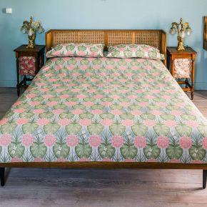 The Chateau by Angel Strawbridge Lily Garden Duvet Set Cream/Eau De Nil