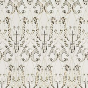 The Chateau Le Chateau Des Animaux Fabric