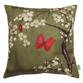 Angel Strawbridge The Chateau Blossom Cushion Basil