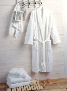 Towelling Bathrobe 400gms