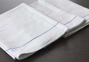 Waiter's Cloths - Pack of 12 - Blue Stripe