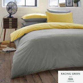 Racing Green Colburn Duvet Cover Set