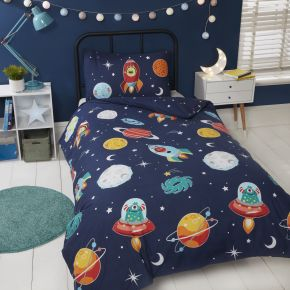 Rapport Space and Aliens Duvet Set