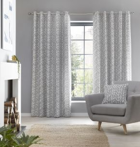 Fusion Loft Eyelet Lined Curtains