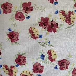 Watercolour PVC Fabric Tablecloth Pink