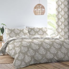Dreams & Drapes Fern Duvet Set Natural