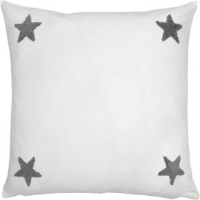 Appletree Tufted Star 100% Cotton Cushion Cover