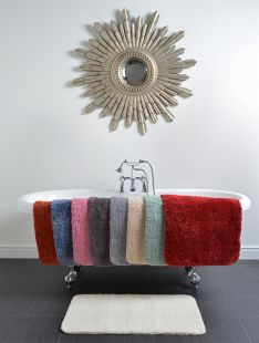 Microfibre Bath and Pedestal Mats