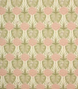 The Chateau Lily Garden Fabric By The Metre