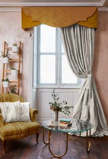The Chateau Bamboo Lined Tape Curtains