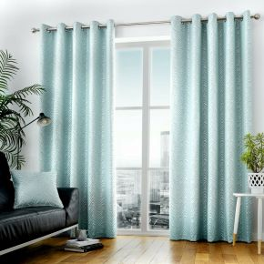 Curtina Africa Eyelet Lined Curtains