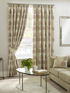Arden Pencil Pleat Tape Lined Curtains