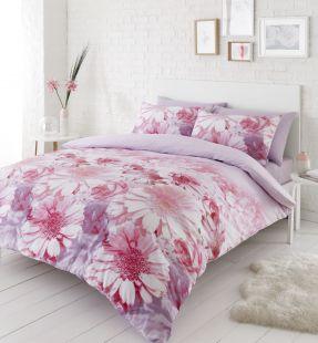 Catherine Lansfield Daisy Dreams Duvet Set Pink