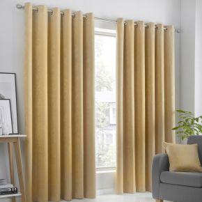 Fusion Strata Eyelet Dimout Curtains