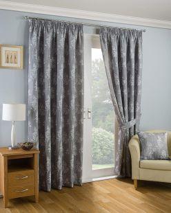 Arlington Pencil Pleat Lined Curtains