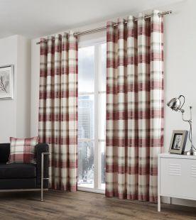 Fusion Balmoral Check Curtains