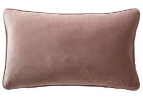 Karen Millen Velvet Boudoir Cushion Blush