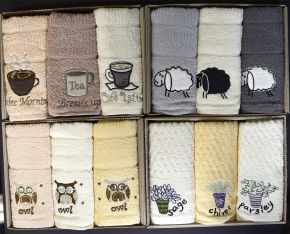 Kitchen Towels - Boxed Gift Set