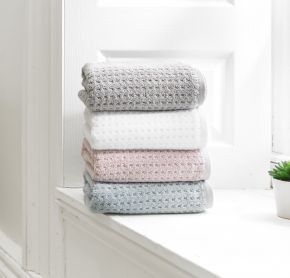Honeycombe Bruge Towel Collection