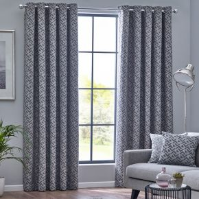 Byron Eyelet Lined Curtains