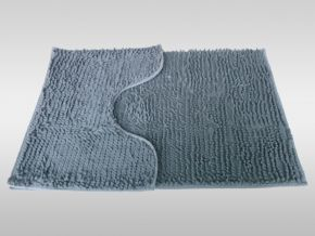 Chenille Bath and Pedestal Mat Set