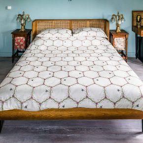 The Chateau By Angel Strawbridge Honeycomb Duvet Set
