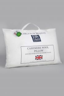 Early's Of Witney Cashmere Wool Pillow