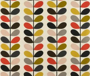 Orla Kiely Multi Stem Tomato PVC Fabric Tablecloth
