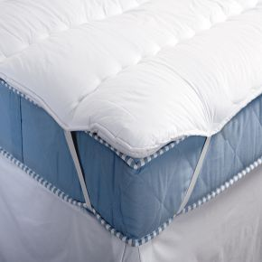 Deluxe Channel Quilted Mattress Topper