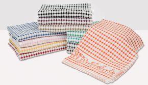 Tunstead Farm Estate Animal Collection Tea Towel Pack Of 6 Assorted