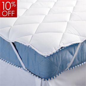 Luxury Diamond Quilted Mattress Topper