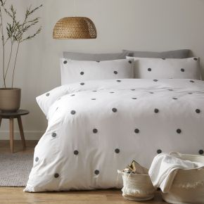 Appletree Dot Garden 100% Cotton Duvet Cover Set