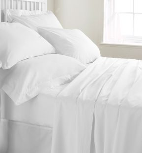 Egyptian Cotton Percale Duvet Cover