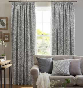 Eleanor Pencil Pleat Tape Lined Curtains