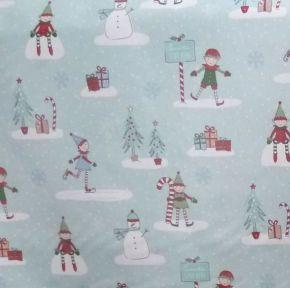 Elf PVC Fabric Tablecloth