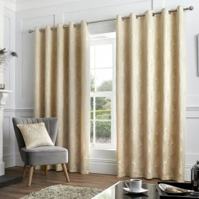 Feather Eyelet Curtains By Curtina