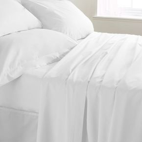 Polycotton Extra Large King Flat Sheets