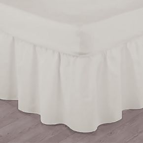"Flame Retardant Single Base Valance 38cm (15"") Frill"