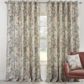 Sundour Giverny Eyelet Lined Curtains