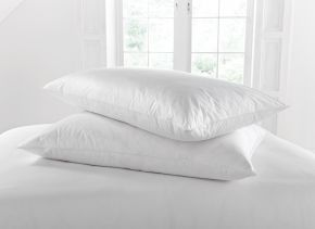 Musbury White Goose Feather and Down Pillow