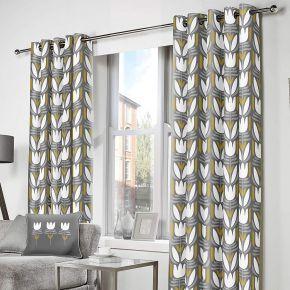 Fusion Haldon Eyelet Curtains