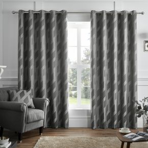 Houston Eyelet Curtains By Curtina