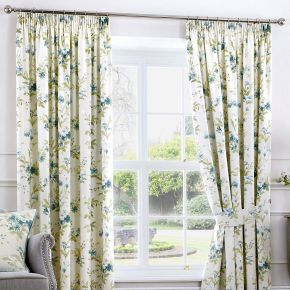Fusion Jeannie Lined Pencil Pleat Curtains