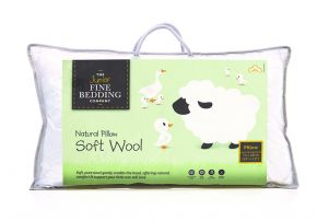 The Fine Bedding Company Junior Soft Wool Pillow