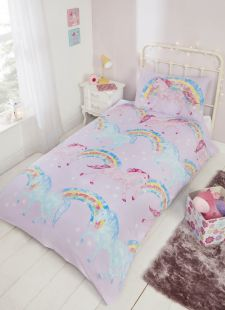 Sparkle and Shine Unicorn Duvet Set by Rapport